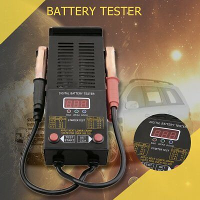 12v CAR BATTERY & CHARGING SYSYEM DIGITAL TESTER 125amp VOLTAGE & LOAD TEST MP