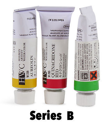 Holbein Artists' Watercolor Tubes Series B