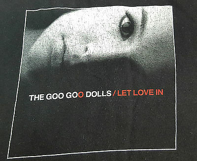 Goo Goo Dolls Let Love In 2007 Tour T-Shirt, Size Medium