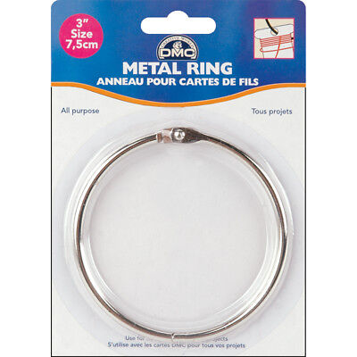 "Metal Ring 3""-1/Pkg, Pk 6, DMC"