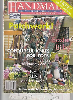 Handmade Craft Magazine  1997 Vol 13 No 2 Patchwork Easter Bilby Knits For Tots
