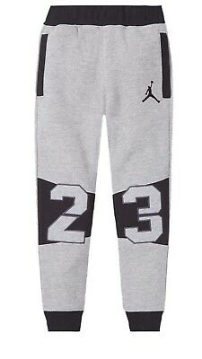 Nike Air Jordan Jumpman Boys 23 Jogger Fleece Pants Size 4