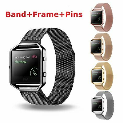 AU Stainless Steel Replacement Watch Band Wrist Strap For Fitbit Alta / Alta HR