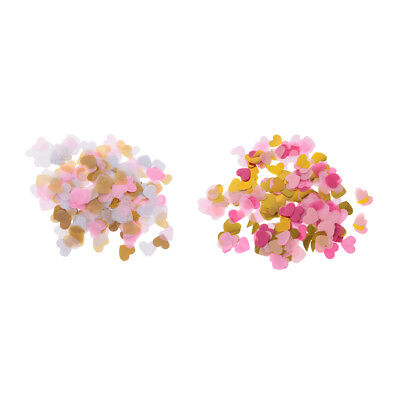 2800pcs Mixed Color Heart Table Scatter Confetti Balloon Wedding Party Decor