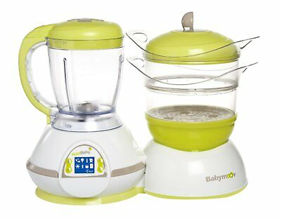 Babymoov Baby Toddler Food Processor Nutribaby Warehouse Clearance