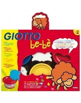 Giotto Be-Be Super Finger Paint Set