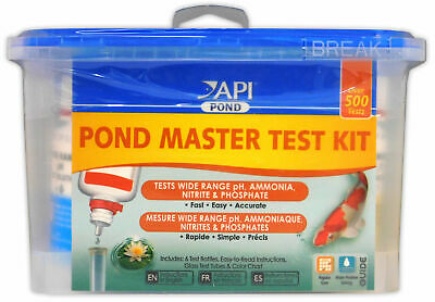 API Pond Master Test Kit Liquid pH Ammonia Nitrite Phosphate Goldfish Koi