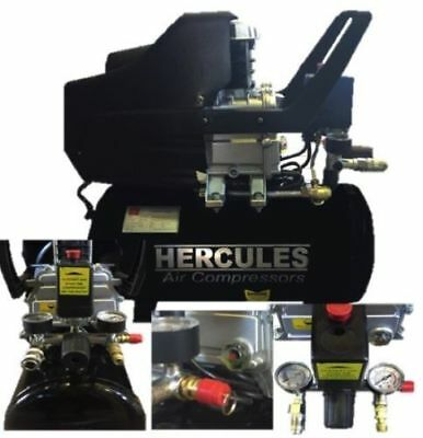 Compressore Hercules 24 Lt 2 Hp 8 Bar 1500 W
