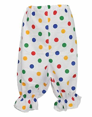 UNISEX Ugly Sister Costume PANTO DAME Fancy Dress BLOOMERS Polka Dot Pants UK