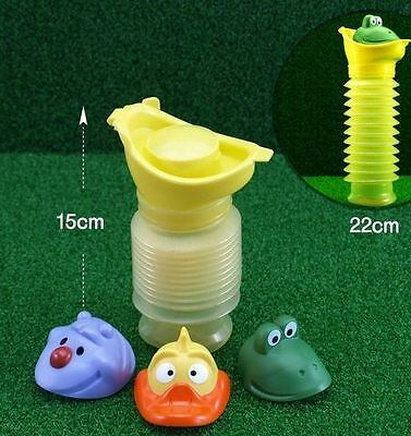 Portable Travel Urinal Car Toilet For Boy And Girl Kid Potty Training