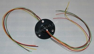 2A , 6  Wires Slip Ring For Wind Turbine Generator L