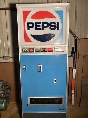 Vintage Pepsi Soda Vending Machine