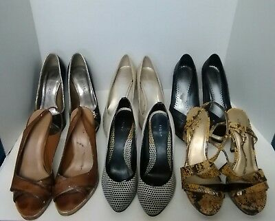 Lot of womens DESIGNER shoes, size 5.5  Fioni, Two Lips, Predictions