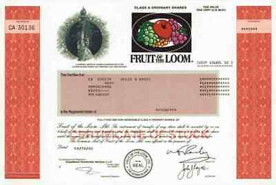 Fruit Of The Loom Robert Knight Warwick Rhode Island Cayman Islands 2000 Chicago