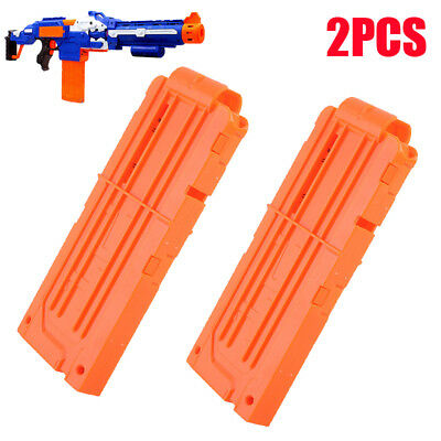 2pcs 12 Reload Bullet Darts Replacement Magazine MAG Clip for Nerf Gun Kids Toy
