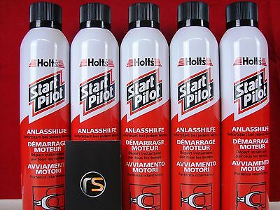 spray de Ayuda Arranque anlasshilfe kaltstartspray Holts PILOTO Inicio 5x 300ml