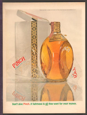 Haig & Haig DEC 1963 PINCH SCOTCH WHISKEY Original Print Ad