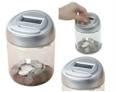 Digital Coin Sorter Money Personal Counter Automatic Machine Change LED Display