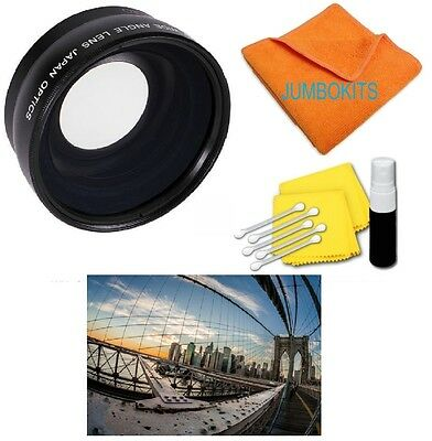 FISHEYE MACRO LENS FOR Canon 70D SL1 T6 6D WITH EF-S 18-55mm f/3.5-5.6 IS STM