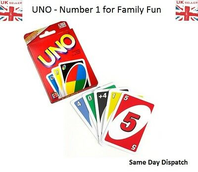 Normal Card Standard UNO Card Game Family Children Friends 108 Playing Fun Cards