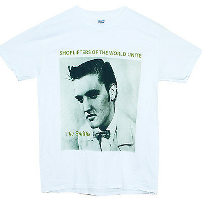 THE CURE LOGO T-SHIRT indie smiths stone roses new order arctic blur wish pulp W