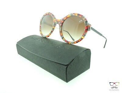 Thierry Lasry Sunglasses Milfy 215 Multi-Color / Gradient Brown Lenses Round