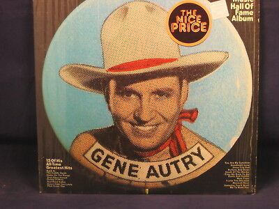 """GENE AUTRY """"Gene Autry's Country Music Hall of Fame"""" LP COLUMBIA PC 1035 SHRINK"""