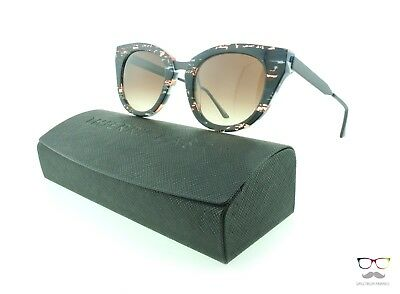 Thierry Lasry Sunglasses Snobby V62X Special Edition Pattern / Gradient Brown