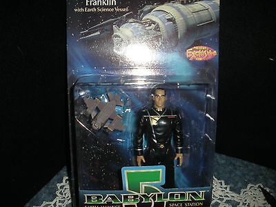 Wb Previews Exclusive Nib  Babylon 5 Dr. Stephen Franklin Figure 1997 Green