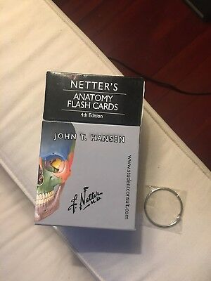 Netters Anatomy Flash Cards 4th Edition