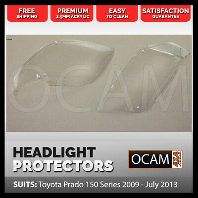 OCAM Headlight Protectors for Toyota Prado 150 Series 2009 - July 2013