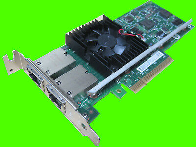 Dell 3DFV8 Intel X540-T2 10GB Dual Port Network Adapter Card PCI-E