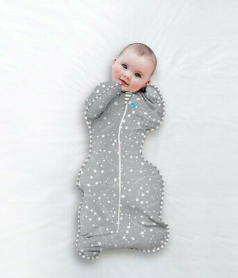 Love to Dream Swaddle Up Bamboo 1TOG - 3 SIZES  SHOOTING STAR GREY FREE SHIPPING