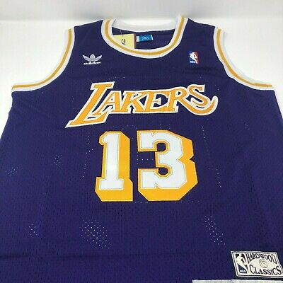 512291f9dfc Wilt Chamberlain Los Angeles Lakers Adidas Swingman Throwback Stitched  Jersey