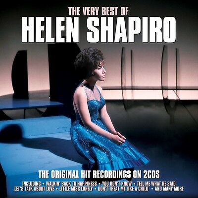 Helen Shapiro - The Very Best Of [Greatest Hits] 2CD NEW/SEALED