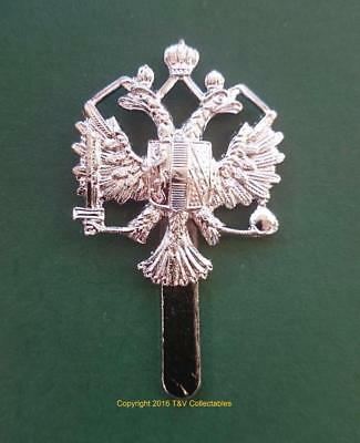 1st QUEEN'S DRAGOON GUARDS CAP BADGE (LBBC)