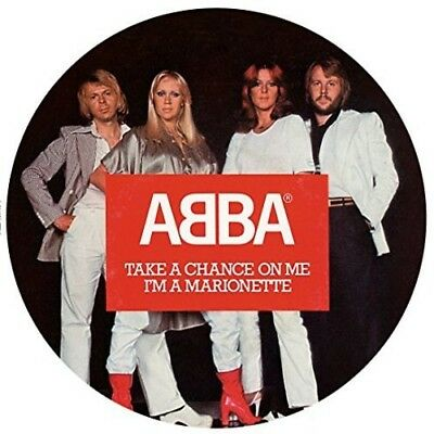 Abba - Take A Chance On Me (Picture Disc) (Vinyl Used Like New)