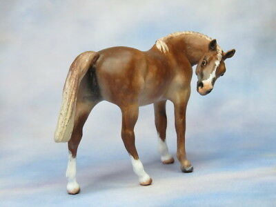 Custom CM Breyer Stablemate G1 Thoroughbred Mare x L. Elkjer+++WOW+++