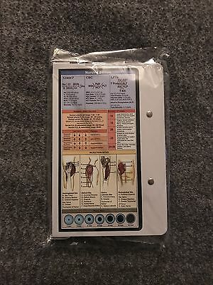 WhiteCoat Folding Medical Clipboard Nurse Doctor Document Tool Healthcare White