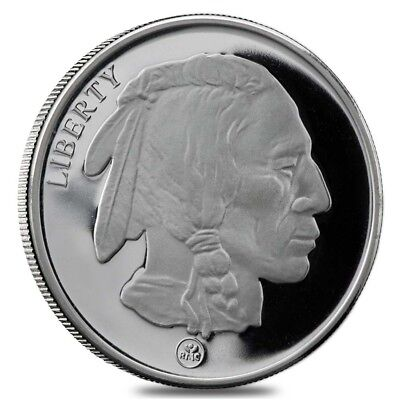 Buffalo Design Republic Metals 1 oz. .999 Fine Silver Round (RMC)