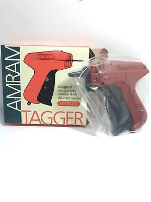New In The Box Amram Tagger Standard Tag Attaching Tagging Gun