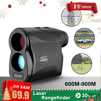 DEKO 100M Digital Handheld Laser Distance Meter Range Finder Measure Diastimeter