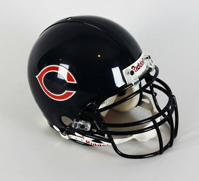"""84622032daf Chicago Bears Walter Payton Signed Helmet Inscribed """"34"""" Riddell Authentic  –."""