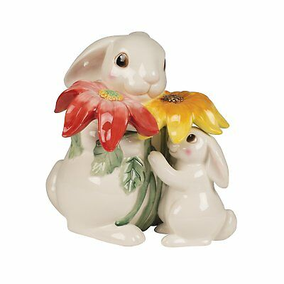 Bunny Blooms Collection, Cookie Jar, Pastel