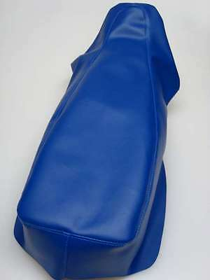 Motorcycle seat cover - Honda Africa twin in blue