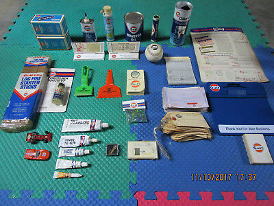 Gulf Oil Station Giveaway Collection Lot of 25