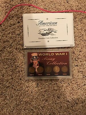 WWI Penny Collection