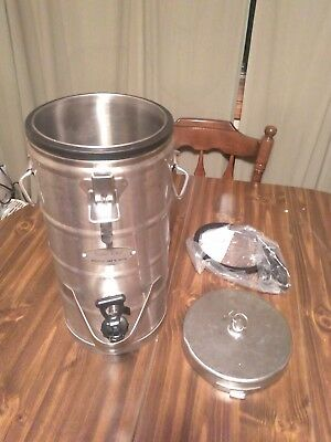 Super Chef 320 Stainless Steel 2 Gallon Insulated beverage dispenser Coffee Pot