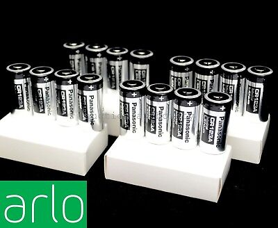 (16) DURACELL Lithium CR123A Battery DL123A 3V Arlo Wireless Camera Batteries