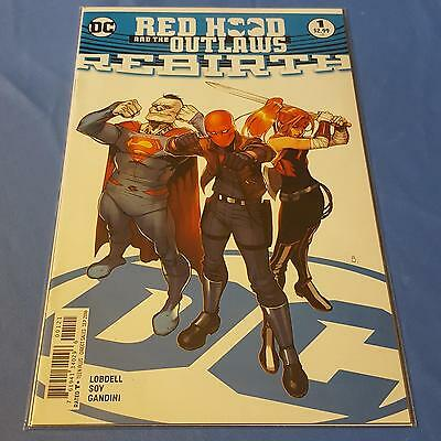 Red Hood and the Outlaws Rebirth #1 NM DC Comics Uncertified